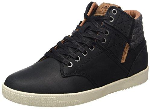 ONeill Herren Raybay LX Leather High-Top Schwarz (Black (9900))