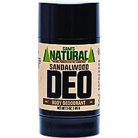 Sam's Natural Sandalwood Deodorant Stick, 85 Grams