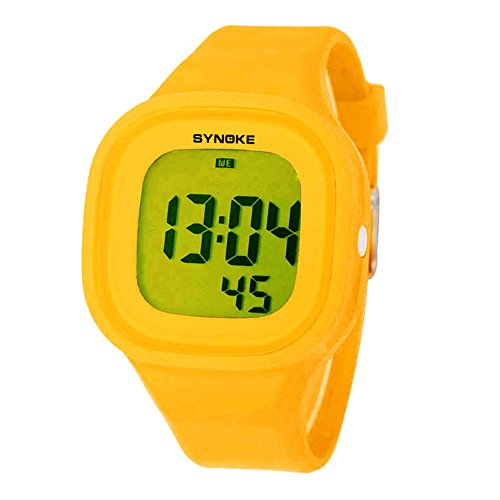 Water Resistant Digital Sport Kids Girls Watch for Boys Chronograph by Touhum
