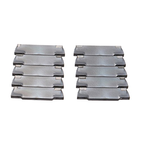 Hitommy Drillpro 10pcs MGMN150-G Blades Insert for MGEHR 1010-1.5 Grooving Cutting Tool by Hitommy (Image #4)