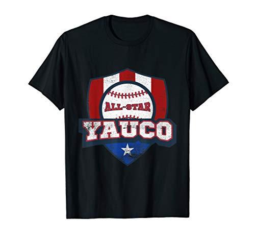 Yauco Puerto Rico Camisa Puerto Rican PR Baseball Shirt