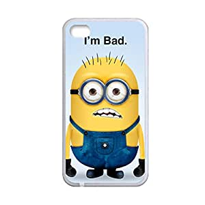 Generic Abs Back Phone Case For Kid Print With Despicable Me Minions For Apple Iphone 4 4S Choose Design 7