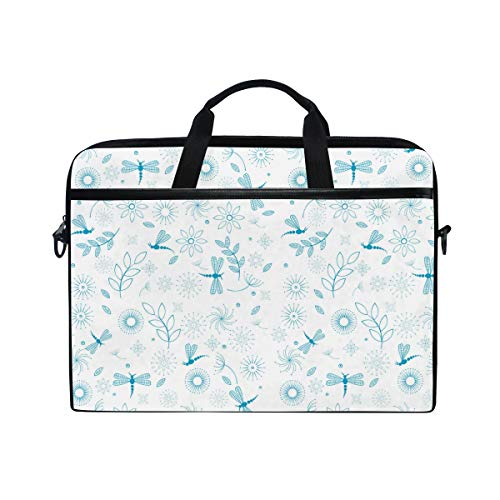 Urns Christmas Dragonfly Lure Necklace Lightweight Travel Business School Computer Bag Laptop Briefcase Shoulder Bag Protective Cover for Men and ()