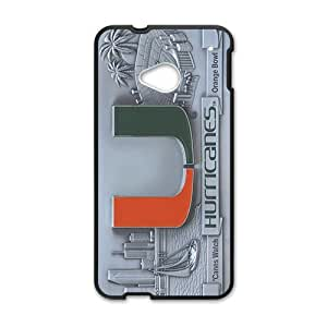 miami hurricanes Phone Case for HTC One M7