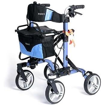 Amazon Com Move X Folding Rollator Deluxe 4 Wheel Walker
