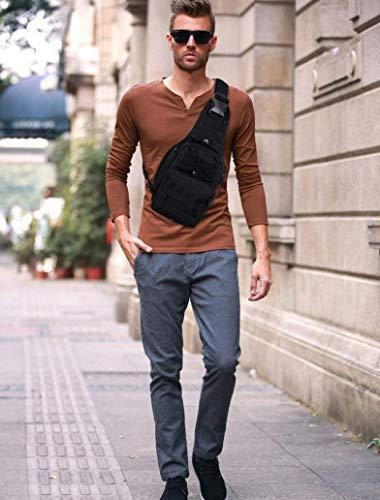 Bandoulière Fashion Pack Seule Randonnée Élégant Casual color Size I De Daypack Lounayy Hommes Size Sac Oxford Tactique Poitrine One Messenger B Y0w0Oq87z