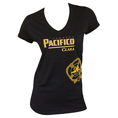 pacifico-ladies-v-neck-tee-shirt-x-large