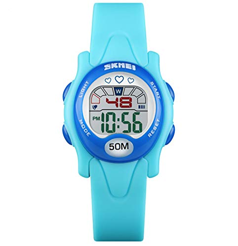Toddler Kids Digital Watches for Boys Girls,Age 3-7 7-10 50M Waterproof Alarm Stopwatch Wrist Watch Gift for Young Little Boys Girls