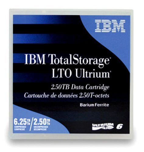 5-Pack IBM LTO 6 Ultrium 00V7590 (2.5/6.25 TB) Data Cartridge by IBM