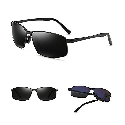 cuadradas Gafas hombres los de anti vidrios deportivas Gafas F conducen D Color SSSX ULTRAVIOLETA sol que de GYYTYJ polarizadas los S8vq0Oxw