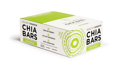 Health Warrior Chia Bars Coconut 13.2-Ounce (Pack of 15)