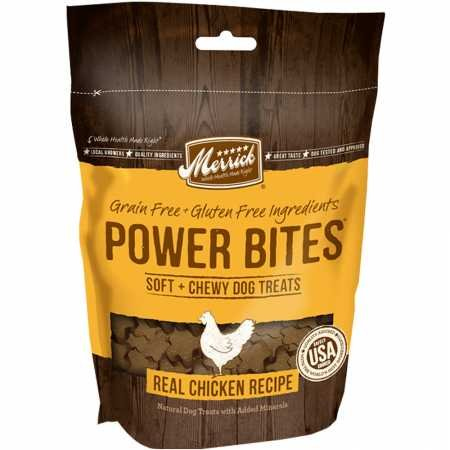 Merrick Power Bites Chicken Recipe Treats