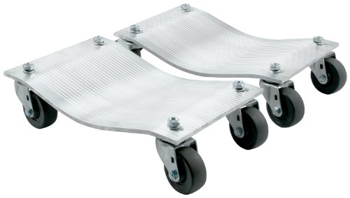 Allstar Performance ALL10134 3500 lbs Aluminum Standard Caster Wheel Dolly, (Pack of 2)