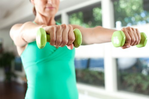 Handweights – Grün, 900 g, Paar by ausgewogene Body