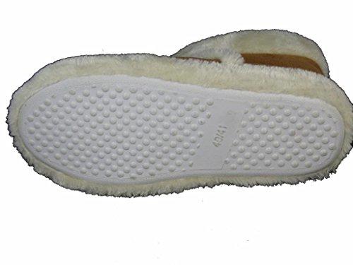 Dunlop Benjamin Hombre Zapatillas/Botas (antelina, Interior con de piel sintética, disponible en diferentes tamaños marrón claro