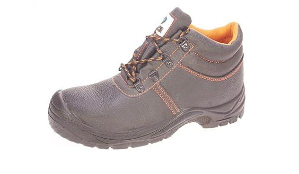 Botas de seguridad SAFE MASTER CALZADO TRABAJO talla 43 NEGRO POLIPIEL: Amazon.es: Zapatos y complementos