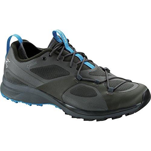 Arcteryx Norvan VT GTX Shoes Men Titan/Aquamarine Schuhgröße 42 2017 Laufschuhe