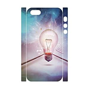 Personalized New Print Case for Iphone 5,5S 3D, Bulb Phone Case - HL-R683917