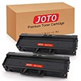 JOTO Compatible Toner Cartridge Replacement for Samsung MLT-D111L MLT-D111S 111L 111S for Samsung Xpress SL-M2020W SL-M2070W SL-M2070FW SL-M2020 (Black, 2 Pack, High Yield Up to 1,500)