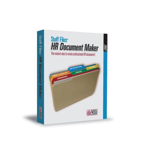 Staff Files HR Document Maker