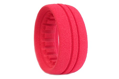 AKA Products 33013 Racing Buggy 4WD Front Closed Cell Inserts Soft Tire, Scale 1:10
