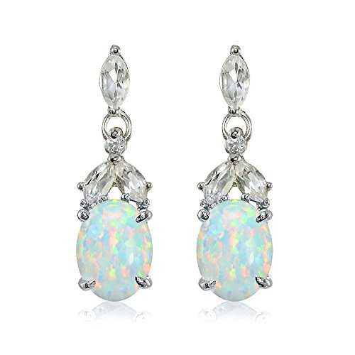 Sterling Birthstone Genuine Gemstone Earrings product image