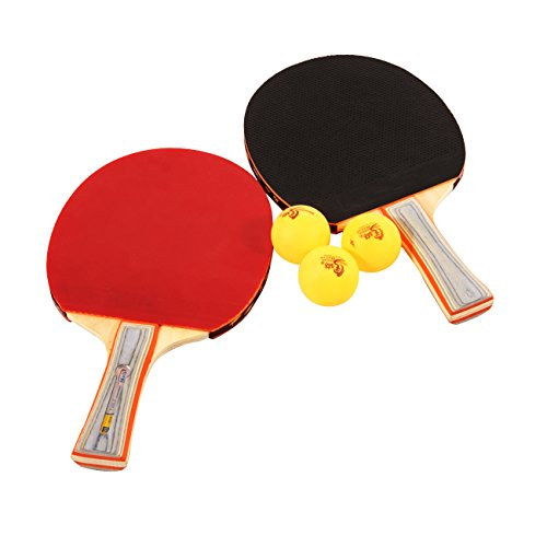 Malintable Tennis Ping Pong Bat Paddle Blade Flared Shake