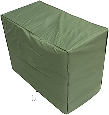 Oxbridge Green 2 Seater Outdoor Garden Bench Cover 1 34m X 0 7m X 0 99m 4 4ft X 2 25ft X 3 25ft Amazon Co Uk Garden Outdoors