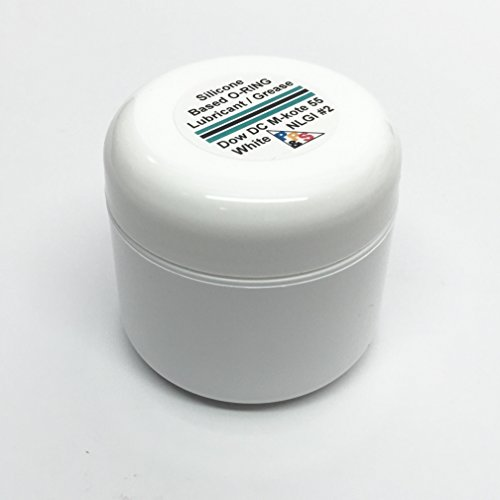 - Dow Corning Molykote 55 O-Ring Grease Lubricant, 57 g or 2 oz
