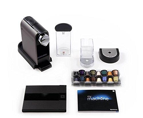41HvRa5uvML - Nespresso Citiz C111 Espresso Maker with Aeroccino Plus Milk Frother, Chrome