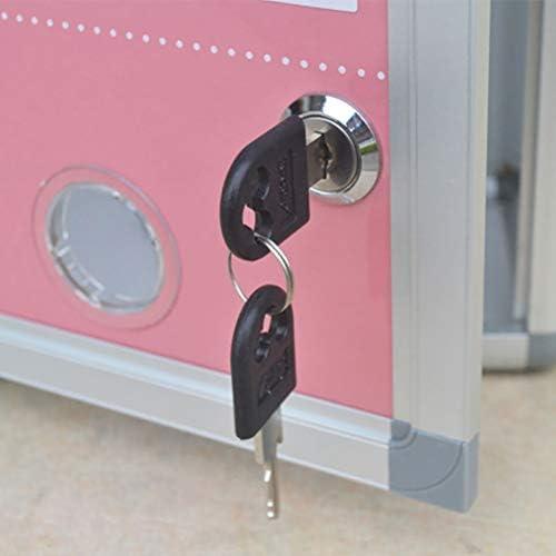 Verrouillage du tiroir /à cl/és Rentable et durable Vektenxi Serrure /à came pour larmoire de porte Bo/îte aux lettres Armoire /à tiroirs 25mm