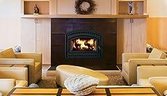 EPA Traditional Phase II Wood Burning Fireplace- White Stacked