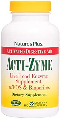 Natures Plus ActiZyme Vegetarian Supplement product image