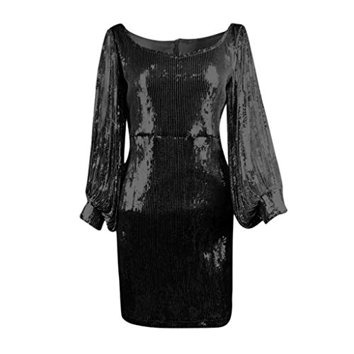 Di Fashion Elegante Moda Abito Estate In Chiffon Sera Vestito Donna nero Nuova Pizzo Abiti Swag Prom D Partito Kword B4qFxwq