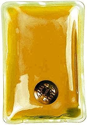 Bolsas de Calor Instantáneo Calientamanos de Gel Calentadores de mano Reutilizables Pack de 2 Unidades - Naranja