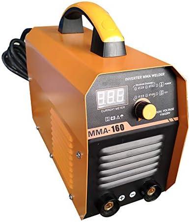 Keneke Welding Machine DC Inverter Welders 160 AMP Mini Handheld Arc Welding Machine MMA 60-160A IGBT Energy-Saving 120V//230V