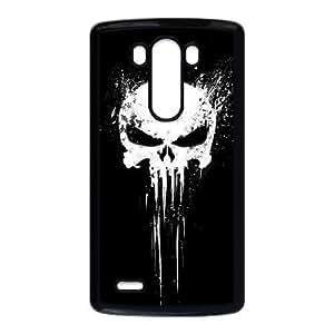 LG G3 Phone Case Black Bloody The Punisher Skull Logo ZHC2670100