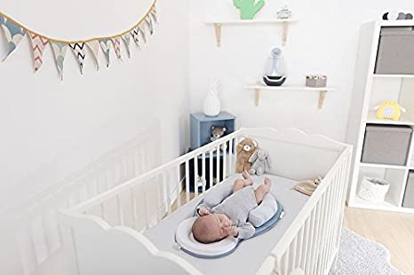 with Cosymat Cot//Crib Wedge Smokey Grey Babymoov Cosydream Smokey