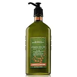 Bath & Body Works Aromatherapy Lemongrass Cardamom Stress Relief Body Lotion 6.5 oz