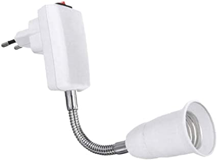 E27-E27 Flexibel Verlängerung Lampe Basis Adapter Konverter LED Halter Steckdose