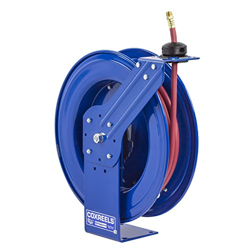 Coxreels Heavy Duty Self Retracting Air Water Hose Reels  3 8  Hose Id  50 Length