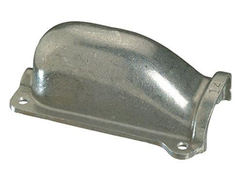 Halex 50799 Cable Servicio placas de umbral con cuatro tornillos y canaleta para sello de aluminio (4 piezas), 7,62 cm