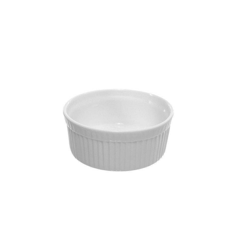 10 Strawberry Street Whittier 4.5''/10 Oz Ramekin, Set of 6, White
