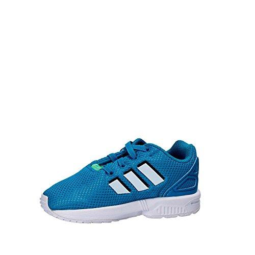 adidas ZX Flux el I, Zapatillas Unisex Bebé Azul (Agufue / Ftwbla / Ftwbla)