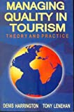 img - for Managing Quality In Tourism book / textbook / text book