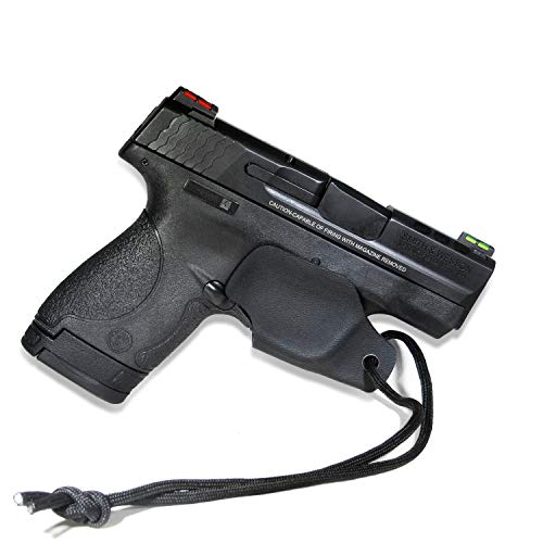 Guard Trigger Universal (B.B.F Make Universal KYDEX Trigger Guard Holster System Models | Retired Navy Owned Company | Available Model: M&P Shield 9/40, Glock 17-41 (Black - MP9 Shield))