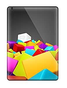 Nannette J. Arroyo's Shop 1273179K94510074 Hot Fashion Design Case Cover For Ipad Air Protective Case (3d Colorful Squares)