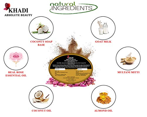 Absolute Beauty Multani Mitti and Papaya Pigmentation Beauty Bathing Soap Bar Natural Herbal Ayurvedic Fresh Beauty… 2021 June Multani mitti is known to fight pimples and acne, removes excess sebum and oil It evens out skin tone and brightens complexion, treats pigmentation and tanning, Papaya pigmentation soap removes pigmentation marks, dark patches and dark Marks on the skin