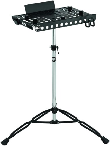 Meinl Percussion Table - Meinl Percussion TMLTS Double Braced Tripod Laptop Table Stand, Steel