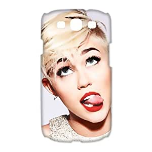 Custom Miley Cyrus Hard Back Cover Case for Samsung Galaxy S3 CL294